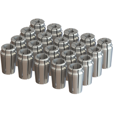 "1"" Capacity Acura-Flex Collet Set - 20pc"