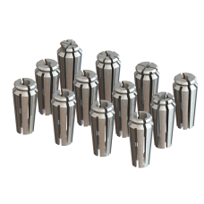 1/4 Capacity Acura-Flex Collet Set - 12pc