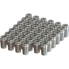 "1"" Capacity Acura-Flex Collet Set - 40pc"