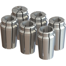 "1"" Capacity Acura-Flex Collet Set - 6pc"