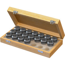 ER32 Collet Set (Metric) - 18pc with Box