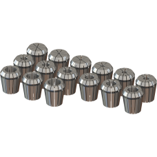 ER40 Collet Set (Inch) - 15pc