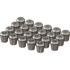 ER40 Collet Set (Metric) - 23pc
