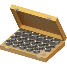 ER40 Collet Set (Metric) - 23pc with Box