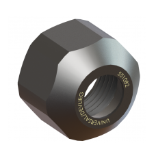 3/8 Capacity (WW) Double Taper Collet Nut