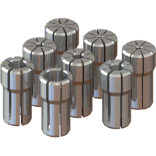 DA300 Collet Set - Set Range: 3/64 - 1/4